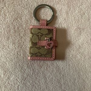 Coach Booklet Keychain